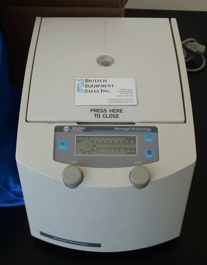 Beckman Coulter Microfuge 18