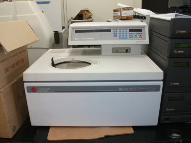 Beckman Coulter Optima Max Ultracentrifuge